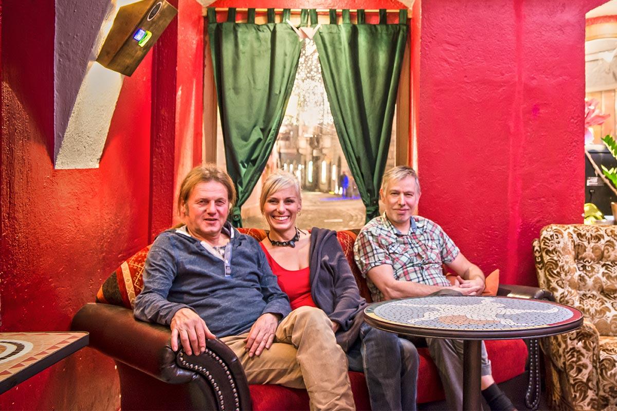 CulturCafé Smaragd - Linz - Ueber uns - Thomas - Gabi - Adi