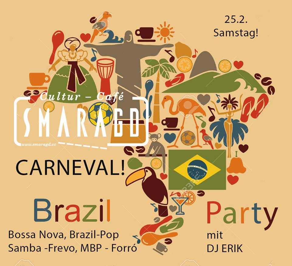CC Smaragd Fasching Brazil Party 2017