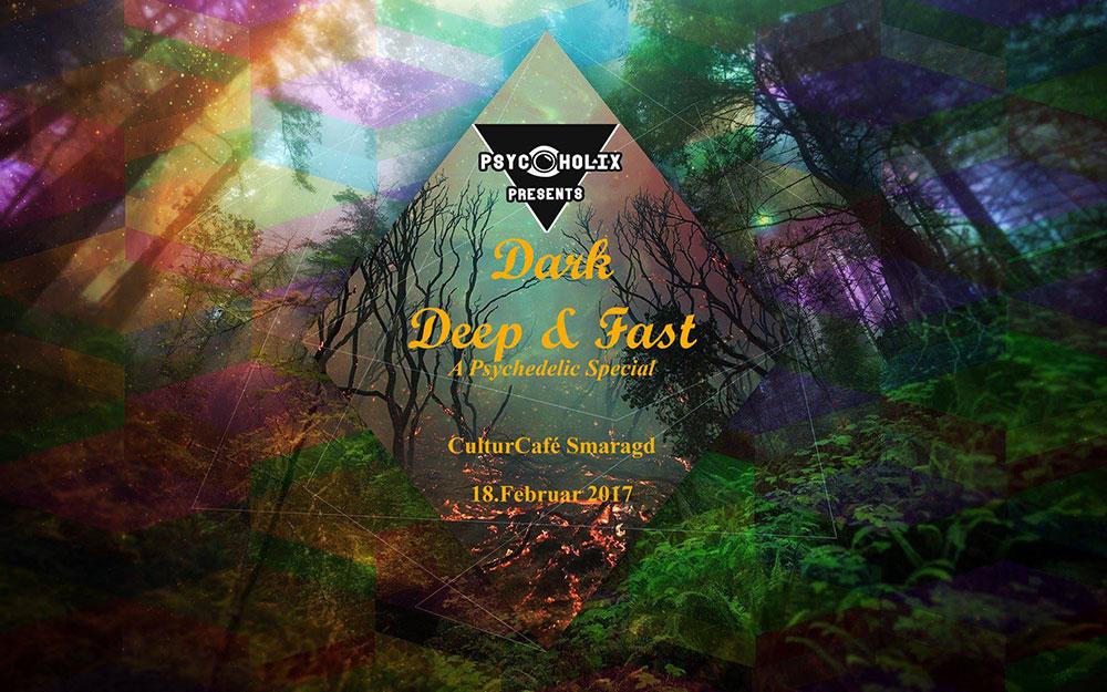 CulturCafé Smaragd Linz - Event - DJ Dancing -Dark-Deep-Fast-Psychedelic-Special-PsychoholiX