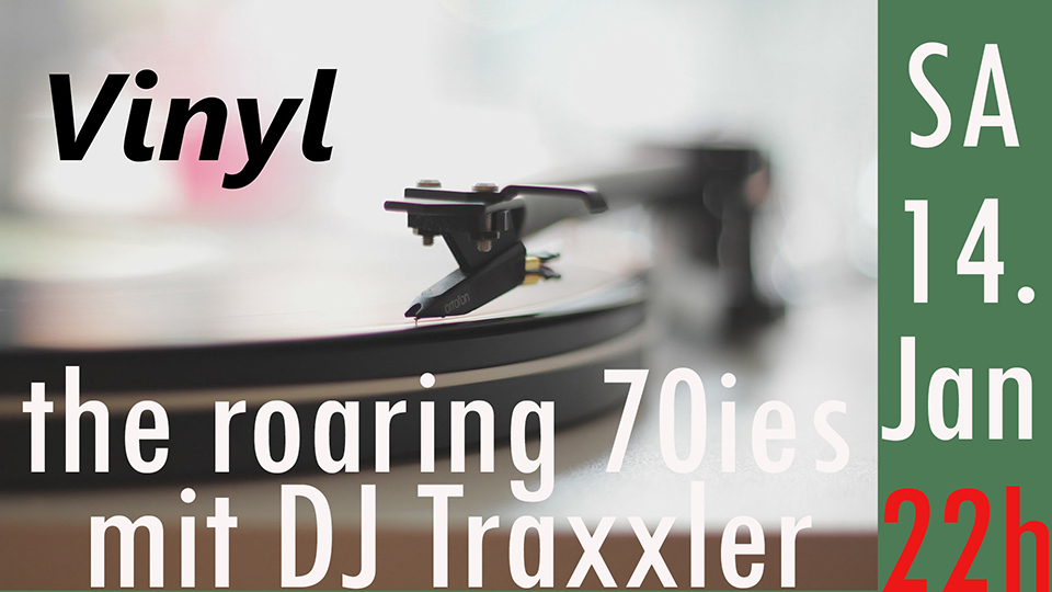 CulturCafé Smaragd Linz - Event - DJ Dancing - DJ Traxxler - 70ies