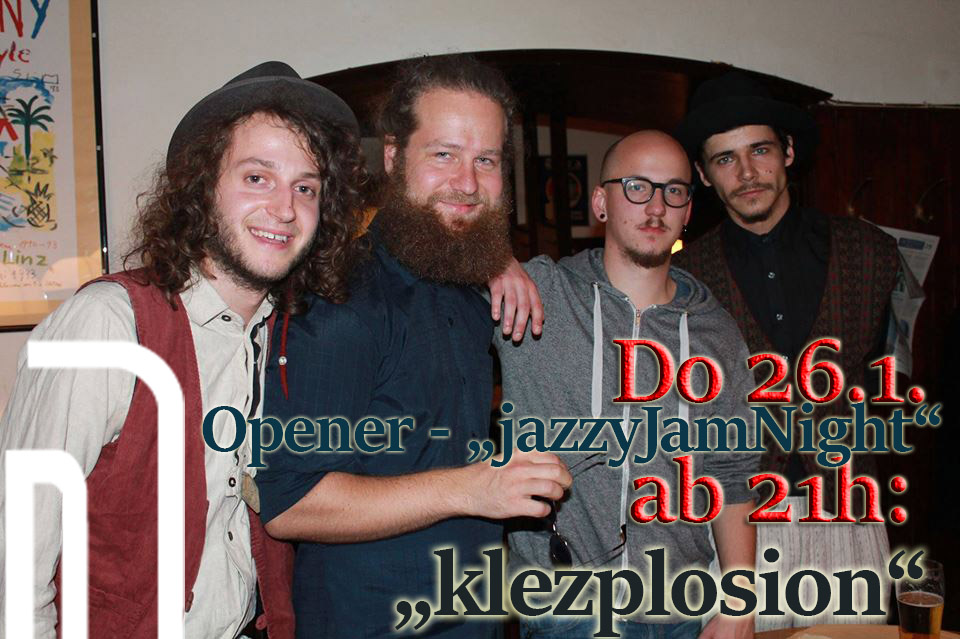 CC Smaragd Linz - Jazzy Jam Session mit Klezplosion