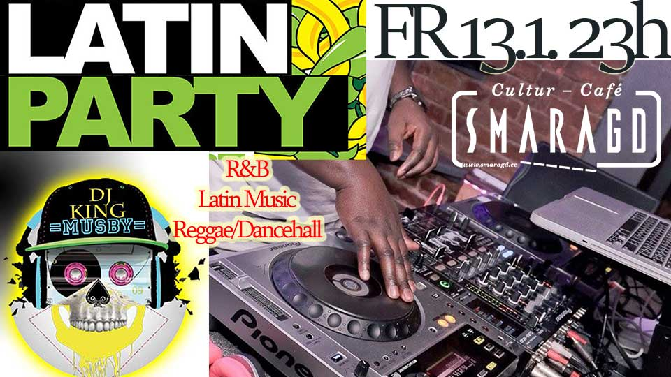 CulturCafé Smaragd Linz - Event - Latin Party