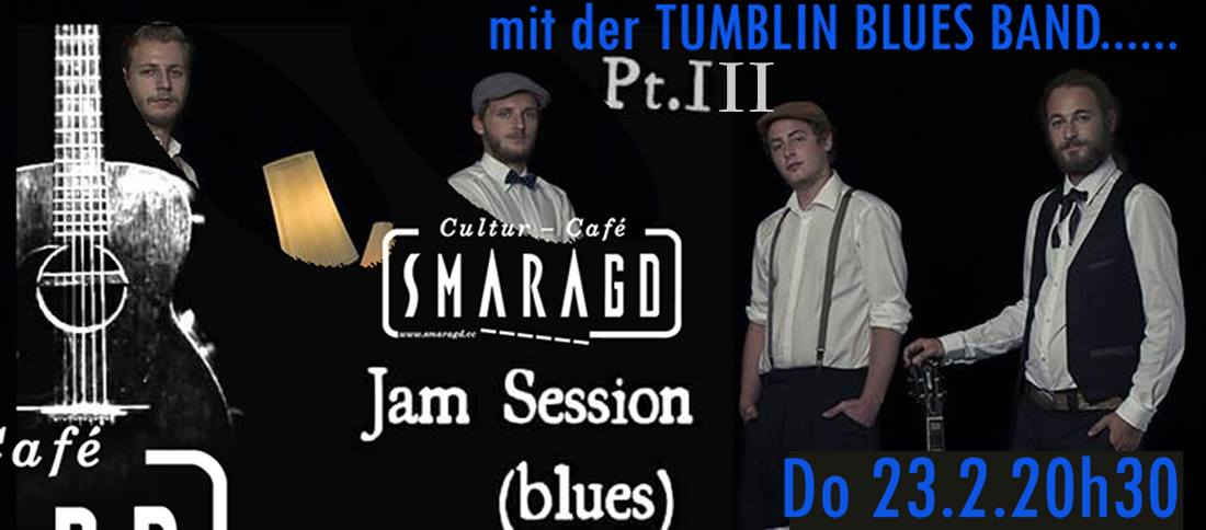 CC Smaragd Linz - Jazzy Jam Night - mit Tumblin Blues Band