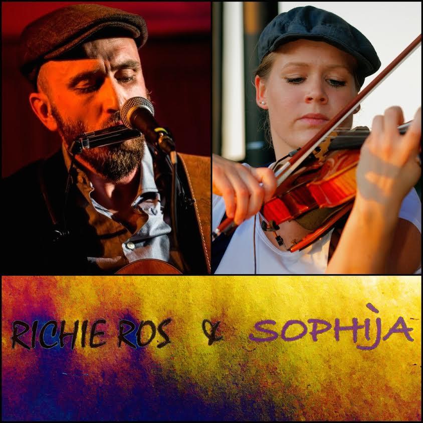Cultur Cafe Smaragd Linz-Event-Richie Ros & Sophija