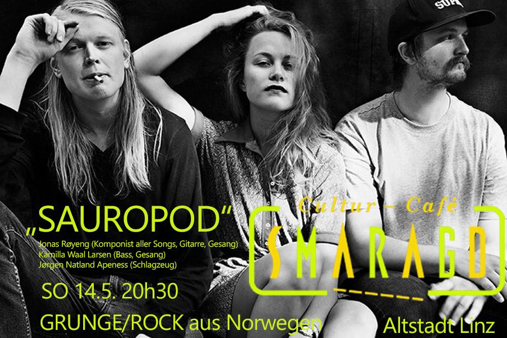 Cultur Cafe Smaragd Smaragd Linz-Event-Sauropod