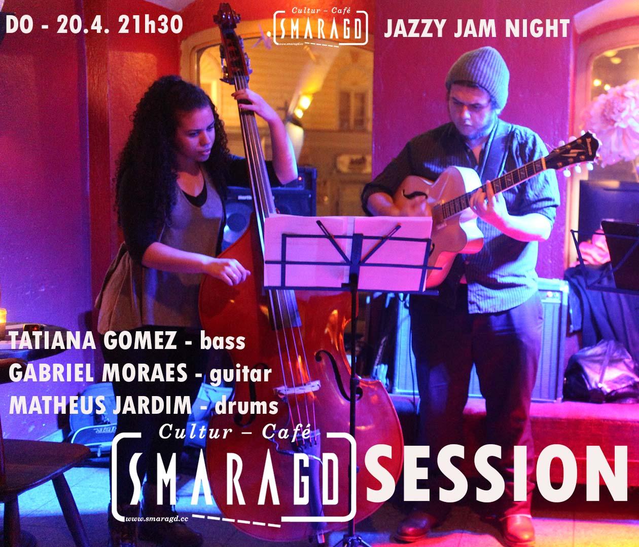 Cultur Cafe Smaragd Linz-Event-Jazzy Jam Night
