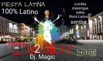 Cultur Cafe Smaragd Linz-Event-Dj Magic