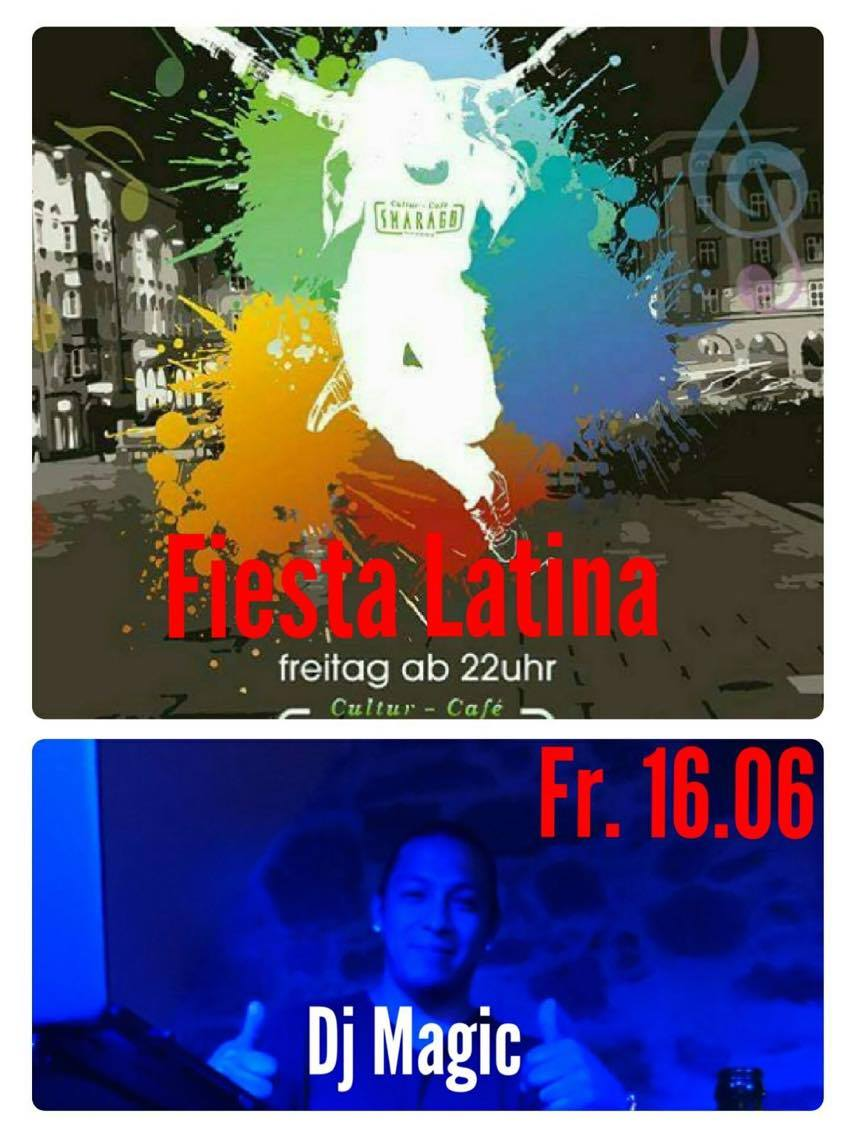 Cultur Cafe Smaragd Linz-Latino Party-Dj Magic