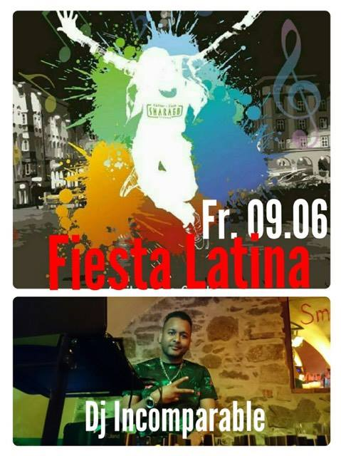 Cultur Cafe Smaragd Linz-Latino Party-Dj Incomparable