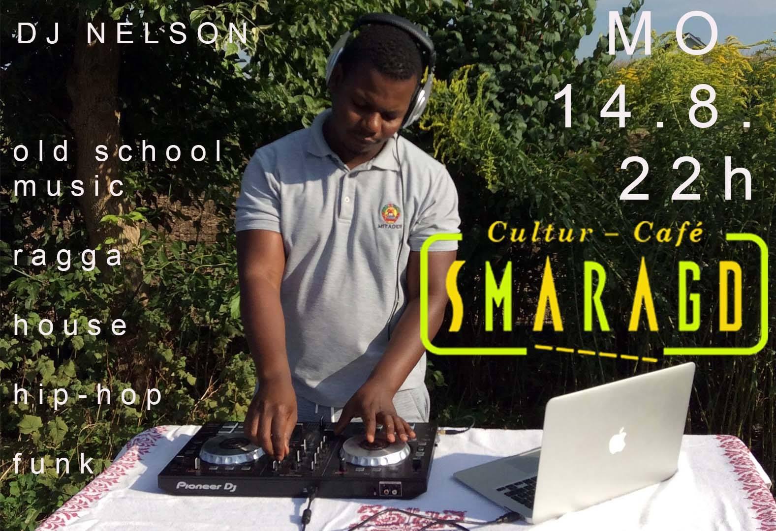 Cultur Cafe Smaragd Linz-Event-DJ Nelson