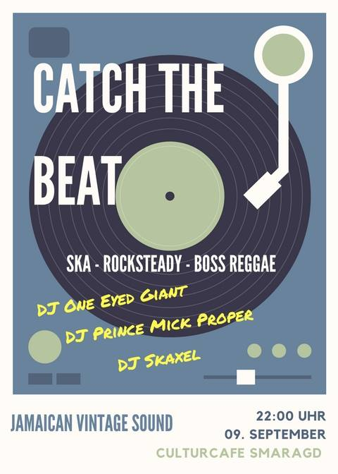 Cultur Cafe Smaragd Linz-Event-Catch the Beat