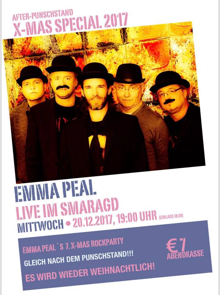 Cultur Cafe Smaragd Linz-Event-Emma Peal