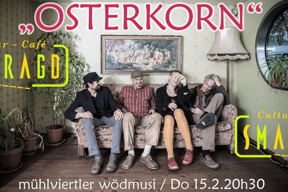 Cultur Cafe Smaragd Linz-Event-Osterkorn