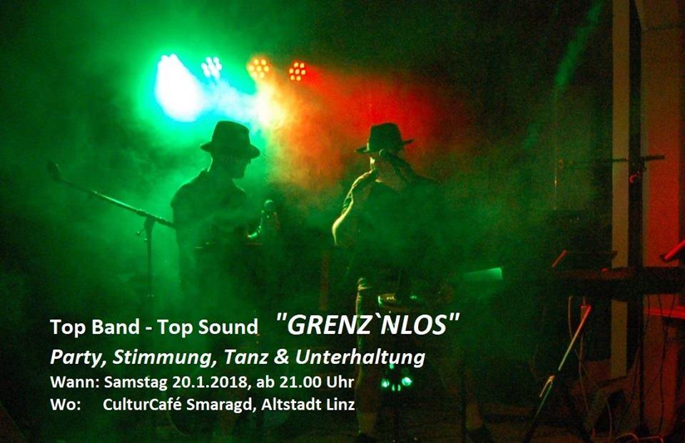Cultur Cafe Smaragd Linz-Event-Grenz`nlos