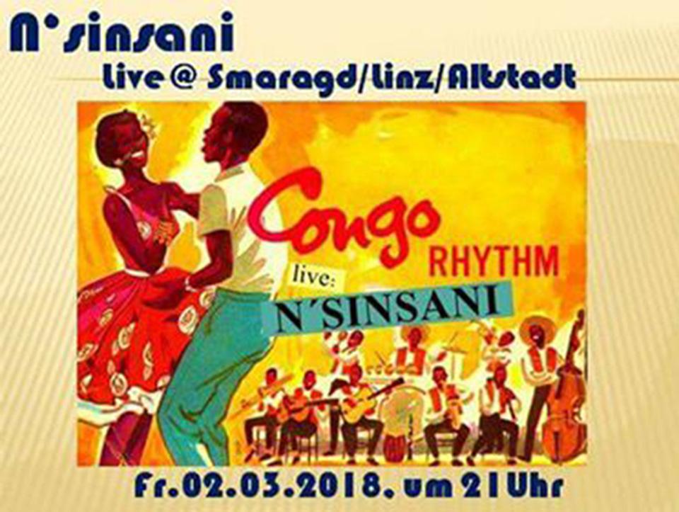 Cultur Cafe Smaragd Linz-Congo Rhythm
