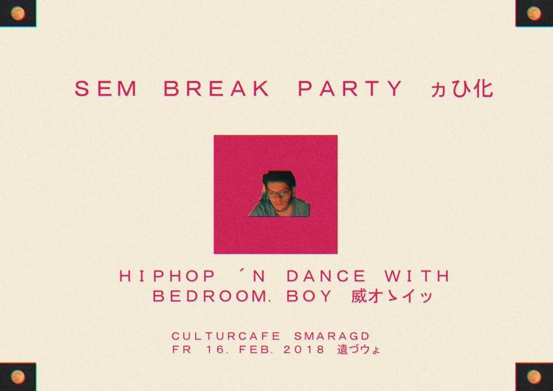 Cultur Cafe Smaragd Linz-Event-Sem Break Party