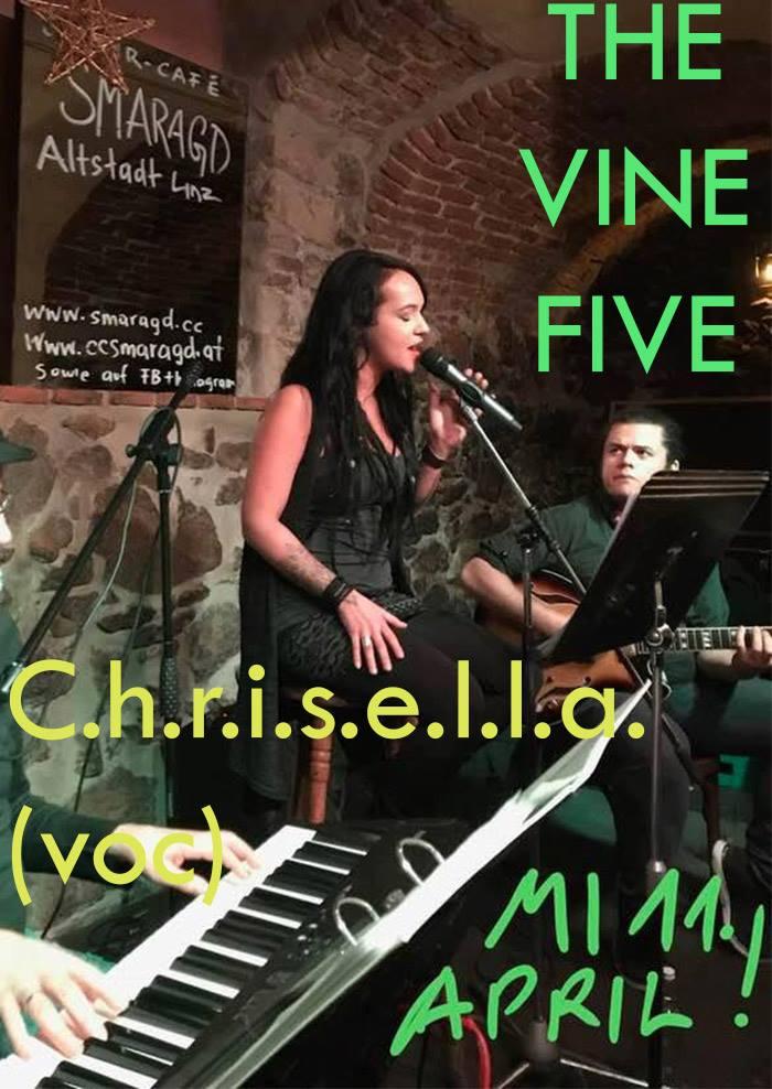 Cultur Cafe Smaragd Linz-Event-Chriselle & The Vine Five