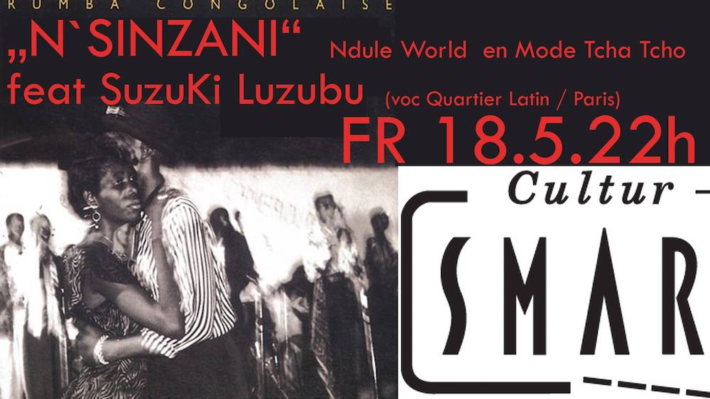 Cultur Cafe Smaragd Linz-Event-La Rumba Congolaise
