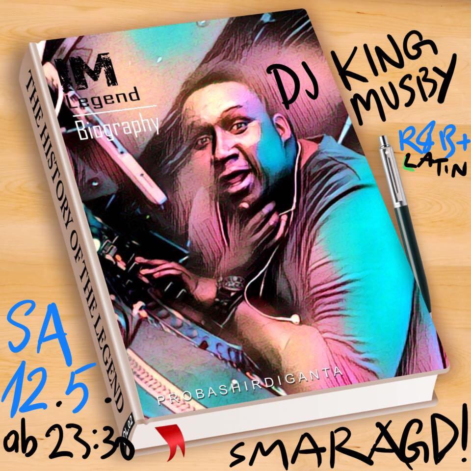 Cultur Cafe Smaragd Linz-Event-Dj King Musby