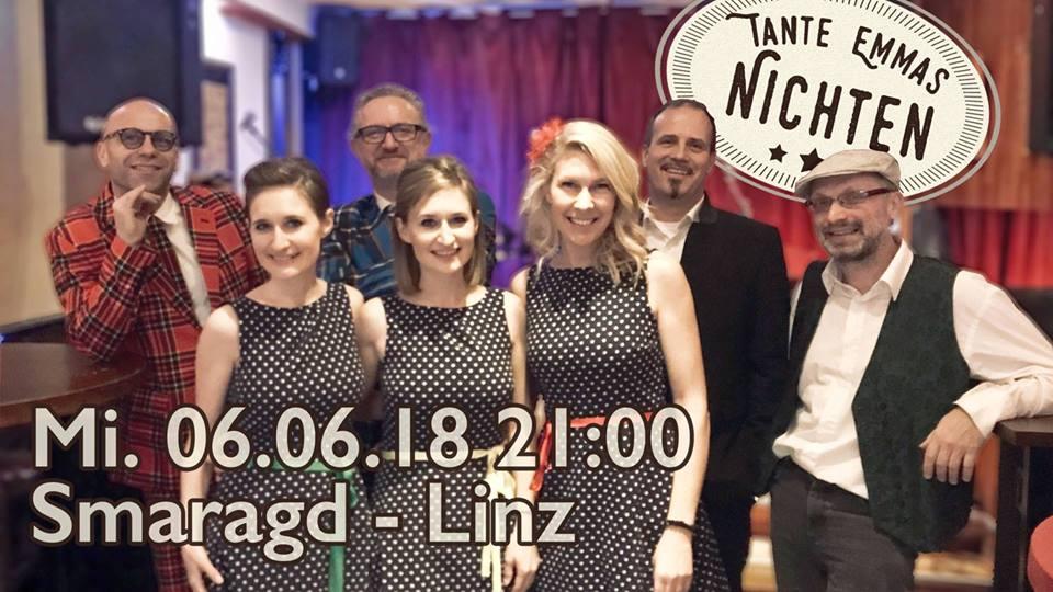 Cultur Cafe Smaragd Linz-Event-Tante Emma's Nichten