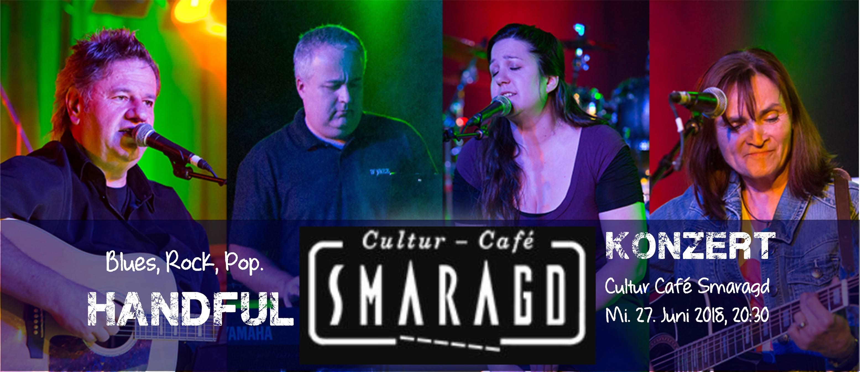 Cultur Cafe Smaragd Linz- Event- Handful