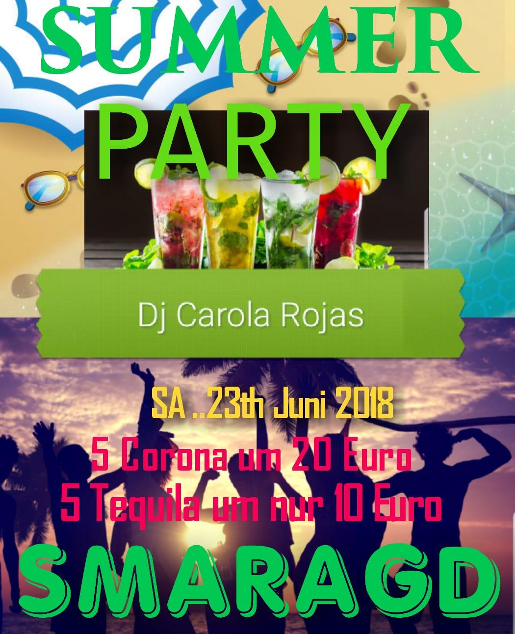 Cultur Cafe Smaragd Linz-Event-Summer-Party