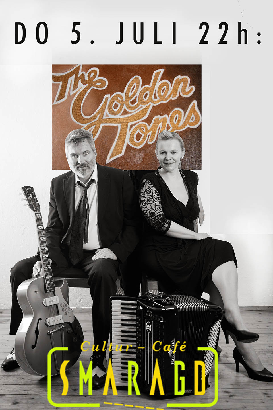 Cultur Cafe Smaragd Linz-The Golden Tones