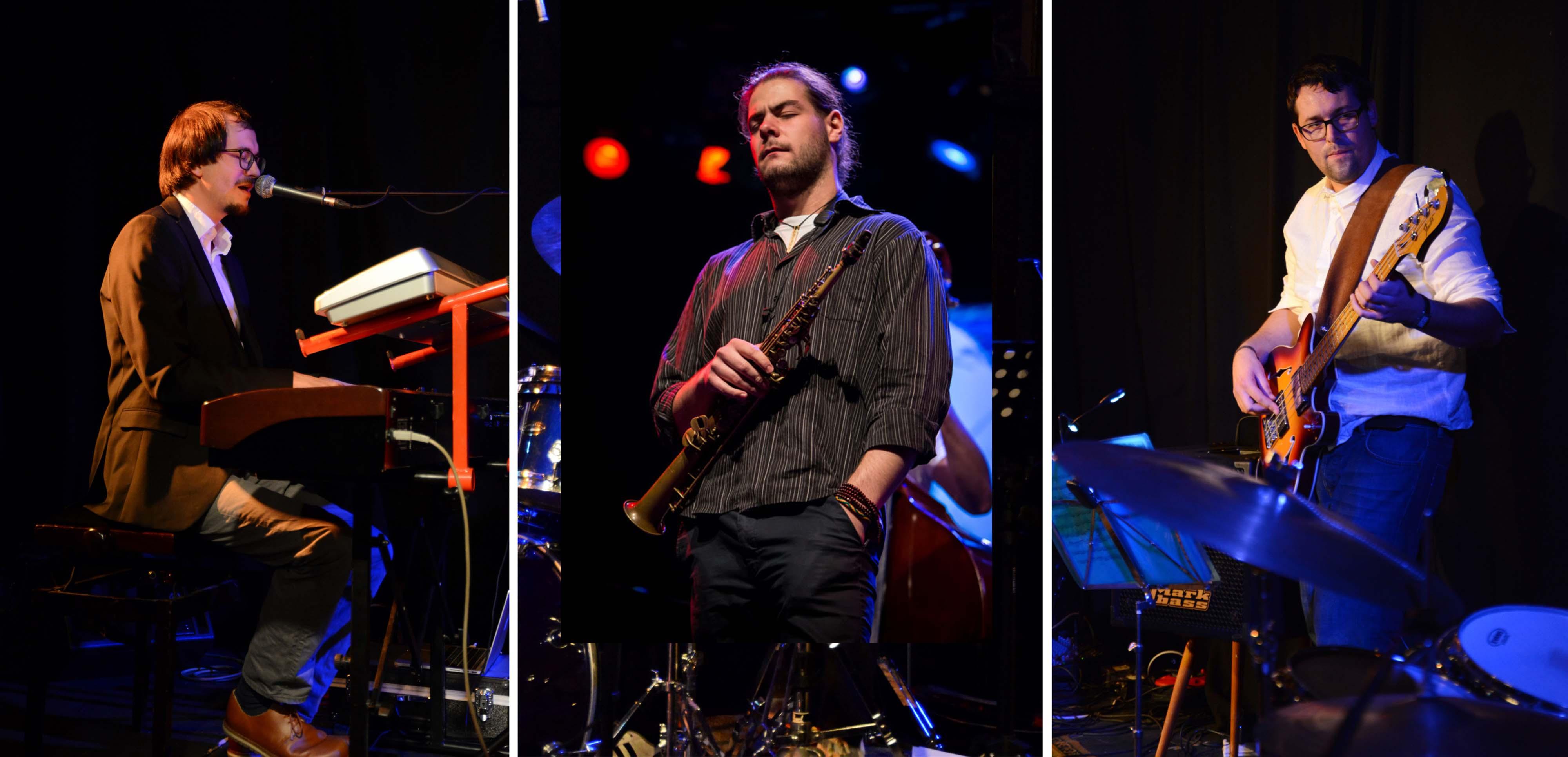 Jazzy Jam Night – Bruckner Uni Students – opener STEPÀN FLÀGAR QUARTET