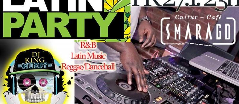 CC Smaragd Linz - Latin Party - DJ King Musby